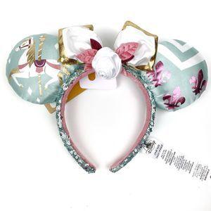 Disney Minnie Mouse King Arthur Carrousel Ears NEW